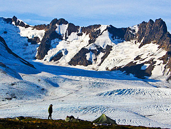 hiking and backpacking alaska wrangell-st. elias national park